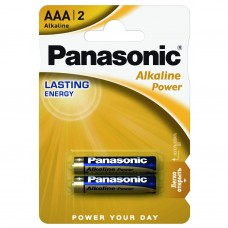 Батарейки Panasonic AAA ALKALINE POWER 2 шт. (LR03REB/2BP)