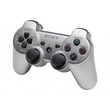 Джойстик беспроводной Sony Sixaxis Dualshock 3 серебристый