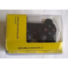 Джойстик PS2 беспроводной (жёлтый блистер)