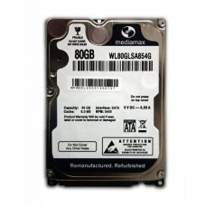 Винчестер 80GB Mediamax (Western Digital) WL80GLSA854G, 5400rpm, 8Mb, 2.5""