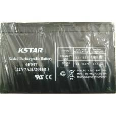 Купить новую аккумуляторную батарею  KSTAR 12V 7AH (6-FM-7)