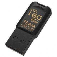 16GB USB 2.0 Flash Drive Team C171 Black (TC17116GB01)