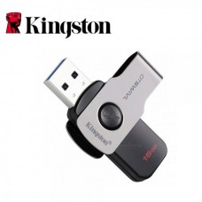 16GB USB 3.1 Flash Drive Kingston DT Swivl Black (DTSWIVL/16GB)