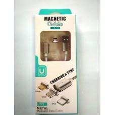Кабель MAGNETIC Iphone 5, USB2.0/AM с магнитным контактом
