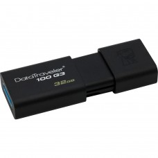 32GB USB 3.0 Flash Drive Kingston DT100 G3 (DT100G3/32GB)