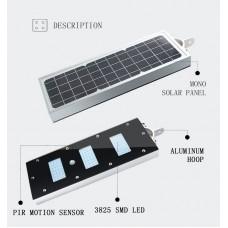 Прожектор на солнечной батарее, DeLux (N530B)