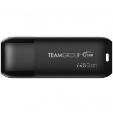 64GB USB 2.0 Flash Drive Team C173 Pearl Black (TC17364GB01)