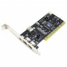 Контроллер PCI to FireWire 1394, 3+1 порта, VIA