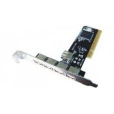 Контроллер STLab U-143 USB 2.0 5 каналов (4вн.+1 внутр.)  NEC PCI