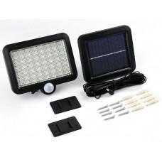 Прожектор на солнечной батарее с датчиком движения, Megapower (56 LED)