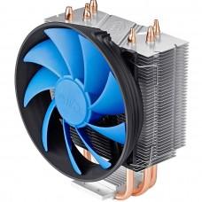 Кулер Deepcool GAMMAXX 300 для AMD/Intel, алюм.радиатор+3 медные тепловые трубки, 4-pin PWM