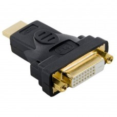 Переходник HDMI (m) - DVI (f)