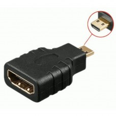 Переходник mini HDMI (m) - HDMI (f)