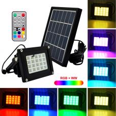 Прожектор на солнечной батарее, DeLux (N510G)