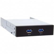 """Адаптер Chieftec MUB-3002 USB 3.0 для 3.5"""" отсека фронтальных панелей корпусов"""