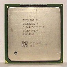 Процессор Intel Celeron D 345J 3.06GHz/256/533, s775, tray