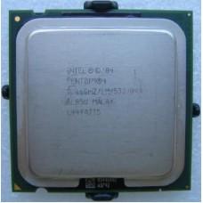 Процессор Intel Pentium 4 505 2.66GHz/1M/533 s775, tray