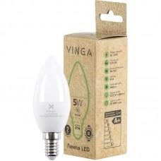 Энергосберегающая лампа Vinga LED Е14, 5Вт, 4000К