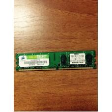 Память DDR2 2GB Corsair PC5300 (667Mhz) Б/У