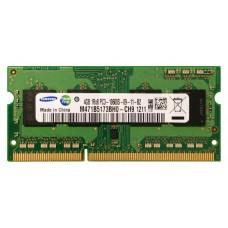 Память SO-DIMM DDR3 4GB Samsung 1600MHz, PC3-12800