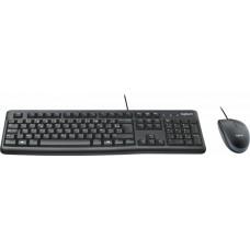 Комплект проводной Logitech MK120 Desktop USB (920-002561)