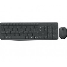 Клавиатуры опт и розница Комплект Logitech Wireless MK235 чёрный (920-007948) ⏩ megapower.space ▻▻▻