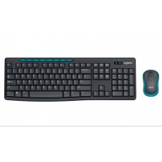 Комплект Logitech Wireless MK275 чёрный (920-008535)