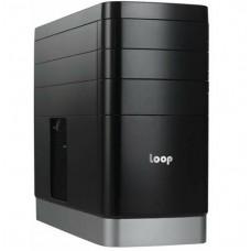 Корпуса для компьютеров опт и розница Корпус Impression Loop LP-2503, без БП ⏩ megapower.space ▻▻▻