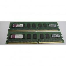 Память DDR2 1GB Kingston PC4200 (533 Mhz) ECC