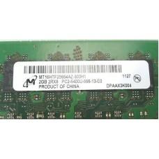 Память SO-DIMM DDR2 2GB Micron PC6400 (800Mhz) Б/У