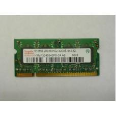Память SO-DIMM DDR2 512MB Hynix PC2-4200 (533Mhz) Б/У