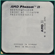 Процессор AMD Phenom II X4 925 2.8GHz sAM2+/AM3