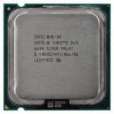 Процессоры  опт и розница Процессор Intel Core2 Duo E6600 2.40GHz/4M/1066 s775_tray б/у ⏩ megapower.space ▻▻▻