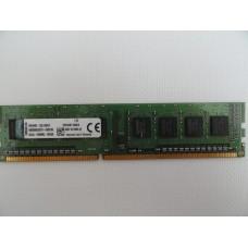 Память DDR3 4GB Kingston PC3-12800 (1600Mhz) Б/У