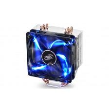 Кулер Deepcool GAMMAXX 400 V2 Blue для AMD/Intel, 4 медные тепловые трубки