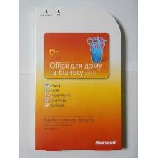Microsoft Office Home and Business 2010 32/64Bit Ukrainian PC Attach Key PKC Microcase (T5D-00322) повреждена упаковка!