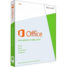 Офисное приложение Microsoft Office для дома и учебы 2013 Русский 1 ПК (коробочная версия) (79G-03738)